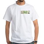 Green Queen White T-Shirt