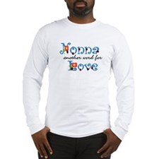 Nonna Love Long Sleeve T-Shirt
