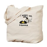 Call Nonna with Black Phone Tote Bag