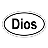 DIOS Oval Decal