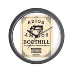 Tombstone Boot Hill Wall Clock