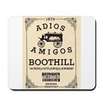 Tombstone Boot Hill Mousepad