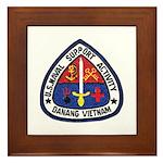 NSA Danang Vietnam Framed Tile