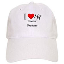 I Heart My Record Producer Baseball Cap
