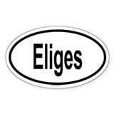 ELIGES Oval Decal