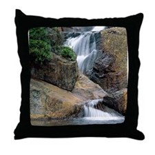 Peaceful Waters Colorado Throw Pillow