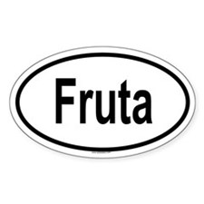 FRUTA Oval Decal