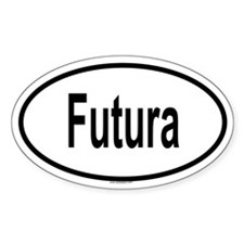 FUTURA Oval Decal