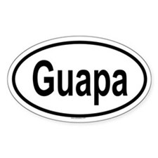 GUAPA Oval Decal