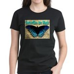 Butterflies Are Magic Women's Dark T-Shirt