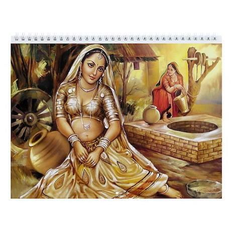 Women of India Wall Calendar (12 Designs)