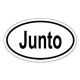 JUNTO Oval Decal