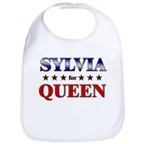 SYLVIA for queen Bib