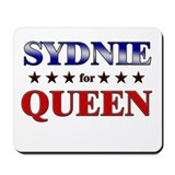 SYDNIE for queen Mousepad