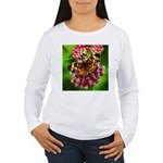 Pearl Crescent Women's Long Sleeve T-Shirt