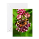 Pearl Crescent Greeting Card