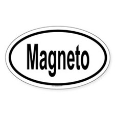 MAGNETO Oval Decal