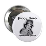 Fanny Bush Cricket Fan Button