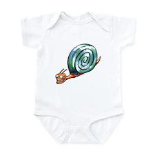 Super Snail Infant Bodysuit