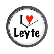 I love Leyte Wall Clock