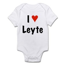I love Leyte Infant Bodysuit