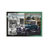 ROUTE 66 CLASSIC Rectangle Magnet