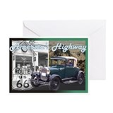 ROUTE 66 CLASSIC Greeting Card