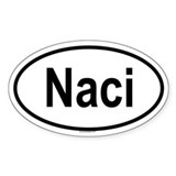 NACI Oval Decal