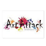 Art Attack Artist Postcards (Package of 8)