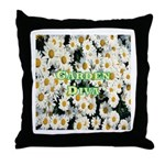 Garden Diva Throw Pillow