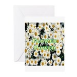 Flower Power Greeting Cards (Pk of 10)