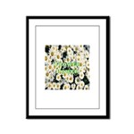 Flower Power Framed Panel Print