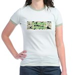 Flower Power Jr. Ringer T-Shirt