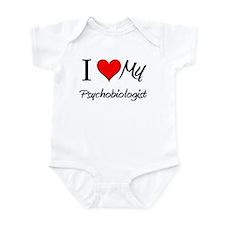I Heart My Psychobiologist Infant Bodysuit