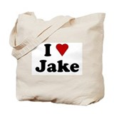 I Love Jake Tote Bag