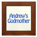 Andrew's Godmother Framed Tile