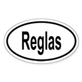 REGLAS Oval Decal