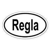 REGLA Oval Decal
