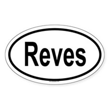 REVES Oval Decal