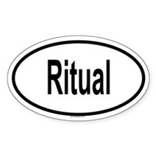 RITUAL Oval Decal
