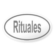 RITUALES Oval Decal