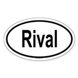 RIVAL Oval Decal