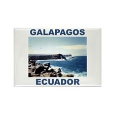 GALAPAGOS ECUADOR Rectangle Magnet