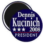 Dennis Kucinich for President in 2008 (Magnet)