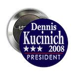 Dennis Kucinich for President 2008 (Button)