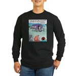 Alien Dogs Long Sleeve Dark T-Shirt
