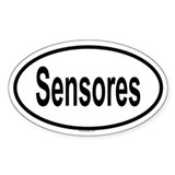 SENSORES Oval Decal