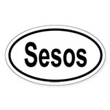 SESOS Oval Decal