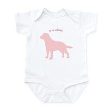 Labrador Retriever... Be My Valentine Infant Bodys