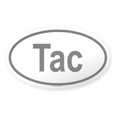 TAC Oval Decal